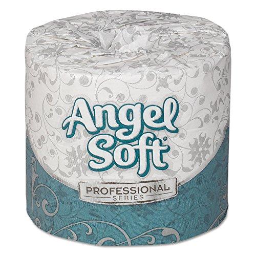 Georgia Pacific 16880 Angel Soft ps Premium Bathroom Tissue, 450 Sheets/Roll, 80 Rolls/Carton (Georgia Pacific 16880)