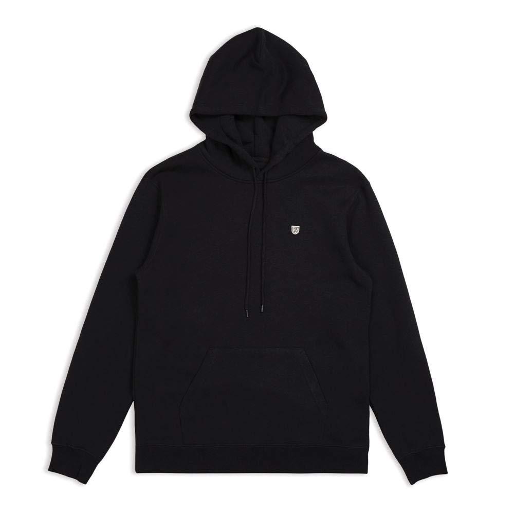 Brixton B Shield Pullover Hoodie schwarz