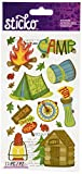 Sticko 450151 Stickers, Camping Fun