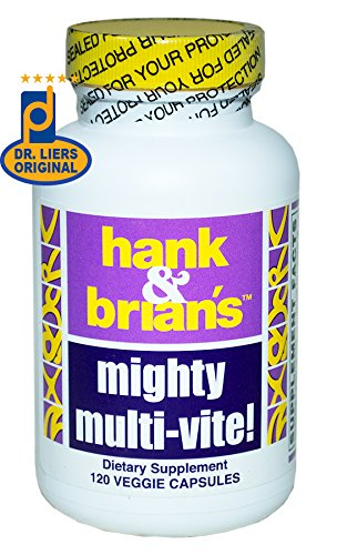 Hank & Brian's Mighty Mult-Vite, an Advanced Multivitamin, Mineral, Cofactor, and Herb Supplement For Sale