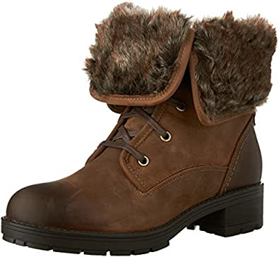 Amazon.com | CLARKS Women's Reunite Up GTX Winter Boot