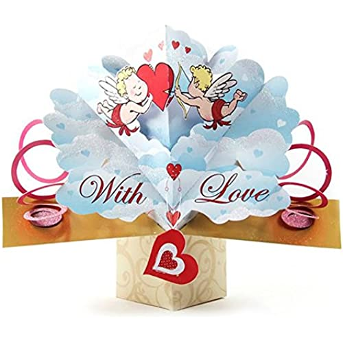 1 X THE ORIGINAL POP UPS - 39475 - CUPID - VALENTINE'S DAY CARD [Office Product] Sales