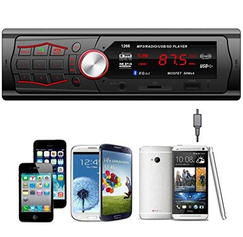 Tongshi En el tablero de coches Audio Unidad Principal Estéreo MP3 / USB / SD / AUX / FM: Amazon.es: Bricolaje y herramientas