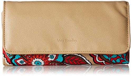 Vera Bradley Rfid Audrey Wallet, Signature Cotton, Desert Floral + 1.50 Power