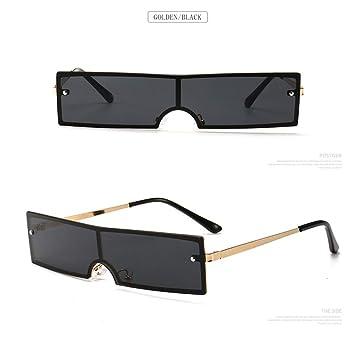 YLNJYJ Nueva Marca Gafas De Sol Rectangulares para Mujer ...
