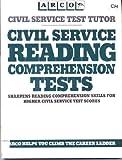 Civil Service Reading Comprehension Tests (Arco Civil Service Test Tutor)