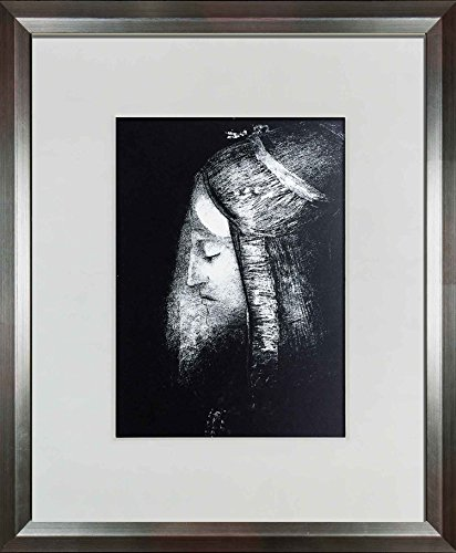 Odilon Redon (1840-1916) 1975 Lithograph| Profil de Lumier | ARTdocs Registered Documentation