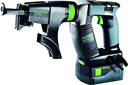 Cordless Collated Screwdriver (Festool 574888 Cordless Drywall Screydriver Dwc Plus)