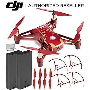 Ryze Tech Tello Quadcopter Iron Man Edition Essential Kit 51PgAJ80LpL