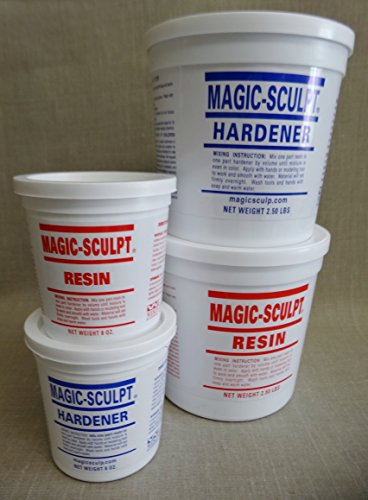 Magic Sculpt 1 Lb. Epoxy Clay - Natural