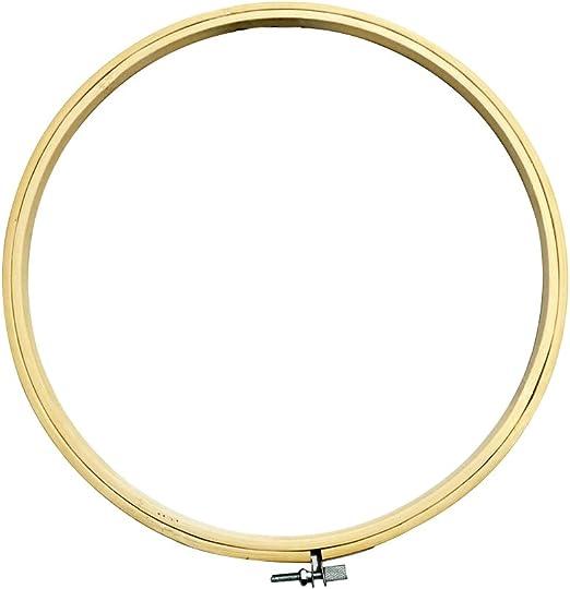 Madera redonda marco de punto de cruz anillo aro de bordado de ...