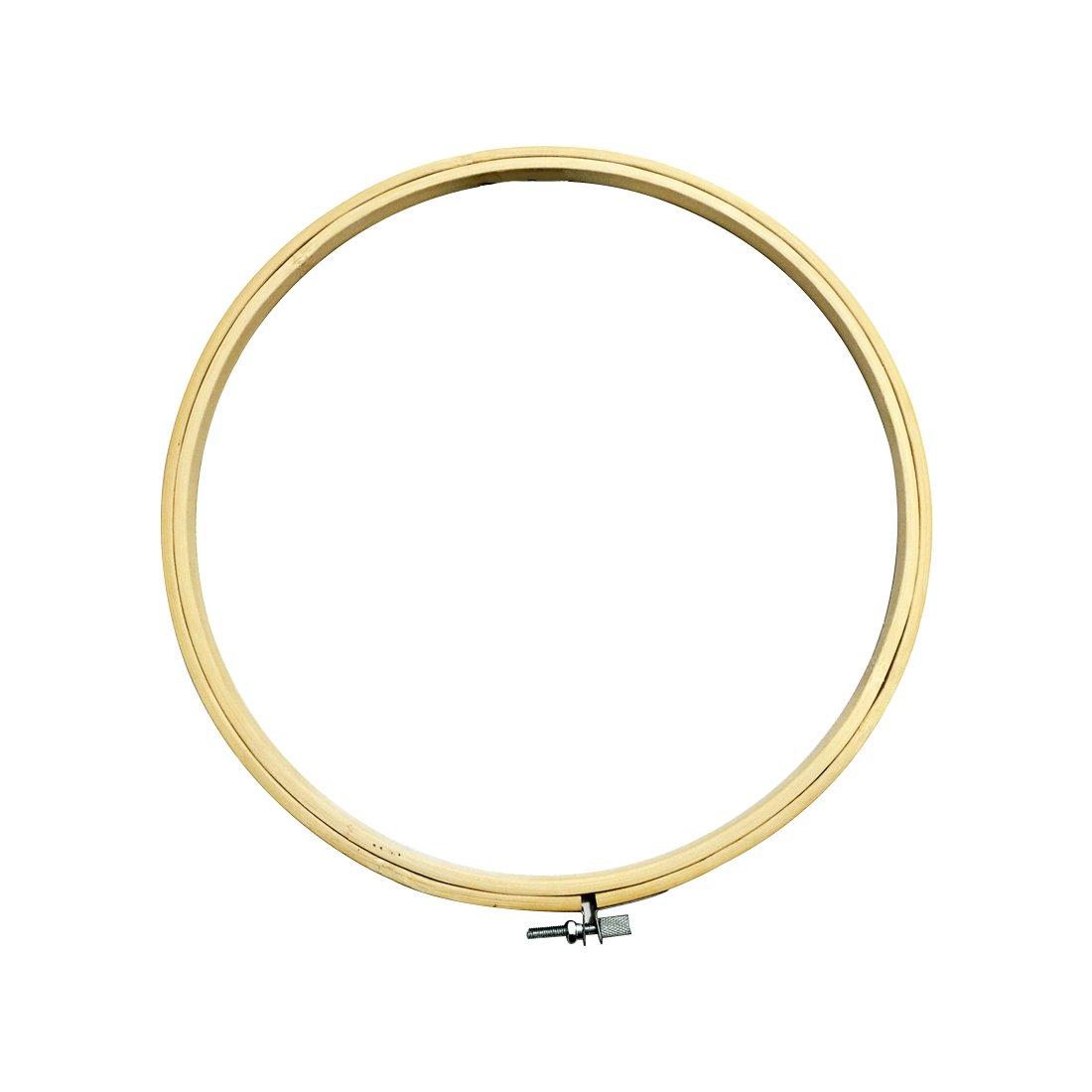 Cercle /à broder rond en bois Bricolage Cercle de broderie pour machine /à coudre Outil 21/cm