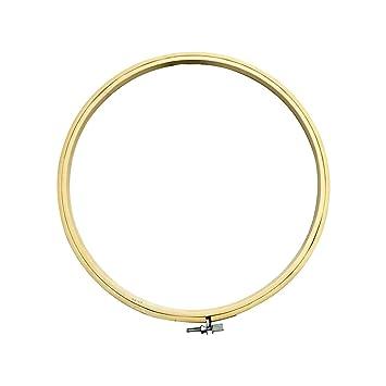 Madera redonda marco de punto de cruz anillo aro de bordado de máquina de coser para coser CRAFT herramientas 21 cm: Amazon.es: Hogar