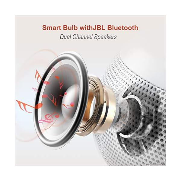 Sengled C01-A66EAE27 Ampoule Enceinte JBL connectée Pulse Solo, Aluminium, 6 W, Blanc, E27 2