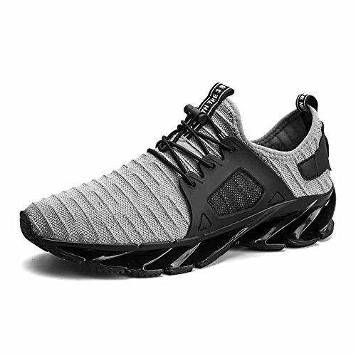 Men's Shoes Feifei Spring and Autumn Personality Leisure Soft Sports Shoes 2 Colours (Size Multiple Choice) Gray