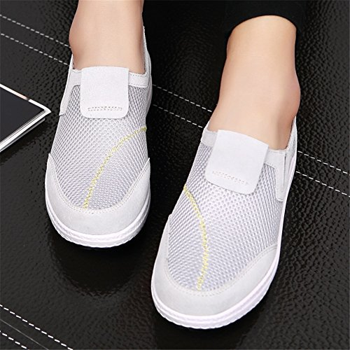 Shaking Fitness Komfort Canvas Shake XUE Ons Slip Sportschuhe Flache Schuhe Herbstschuhe Sneakers Damenschuhe Slipper Schuhe Casual Schuhe Plateauschuhe Schuhe Driving Shake gqq7F