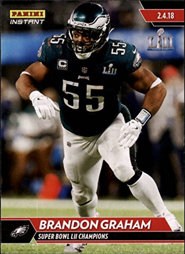 2018 Panini Eagles Super Bowl LII #534 Brandon Graham NFL Football Trading Card by Panini