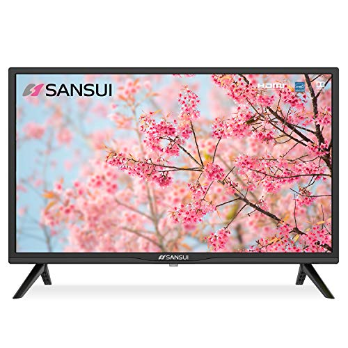 SANSUI 24 Inch TV 720P Basic S24 LED HD TV High Resolution Flat Screen Television Built-in HDMI,USB,VGA Ports – Refresh…