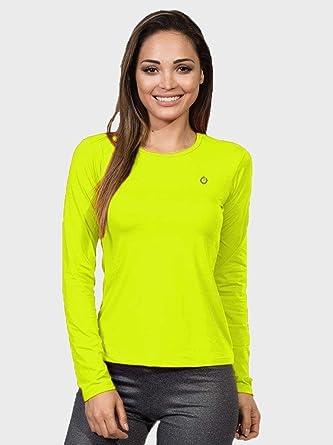 Camisa UV Feminina Longa Proteção Solar Extreme UV New Dry Flúor