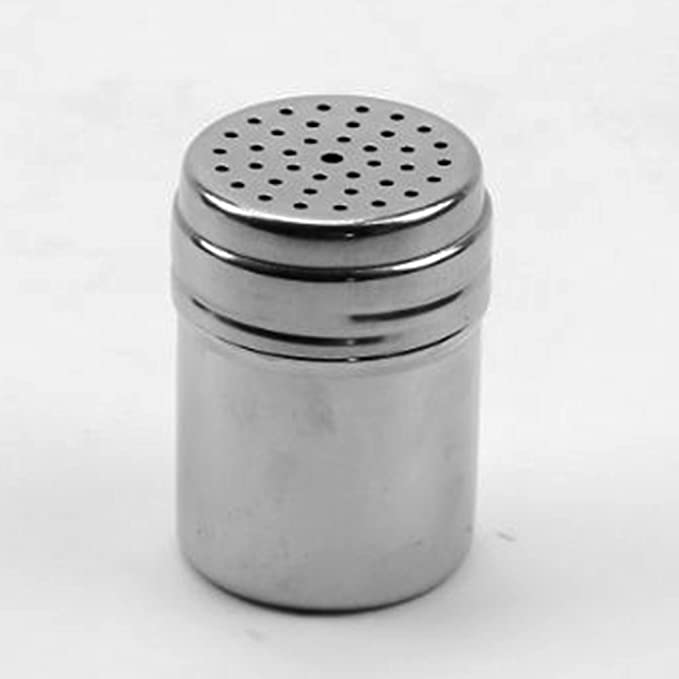 welim caja de condimento de acero inoxidable condimento botellas no giratoria condimento latas botellas de sal pimienta botellas botellas de az/úcar utensilios de cocina para el hogar y restaurante