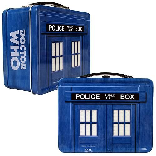 Doctor Who TARDIS Tin Lunchbox