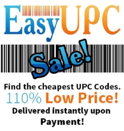 Buy 1000 Upc/ean Certified Barcodes Bar Code Number Amazon Lifetime Guarantee