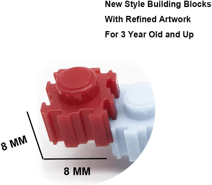 Mini Bricks for Children 3D Plastic Kids Educational Toy MTT MENTTAL 0.8cm Small Block Building Set Toy