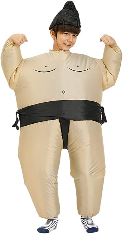 TOOGOO Traje de Lucha de Sumo Inflable Blow Up Disfraz Disfraz ...