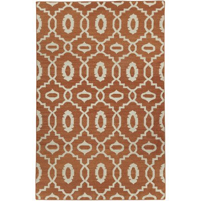 Capel Damask Rug (Capel Rugs Genevieve Gorder Anchor Rectangle Flat Woven Area Rug, 7 x 9', Sunny)