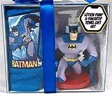 Batman Soap or Lotion Dispenser with Fingertip Towel