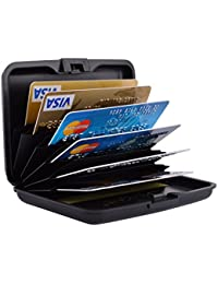 Womens business card cases amazon stainless steel rfid credit card holder credit card wallet protector rfid metal credit card case for colourmoves