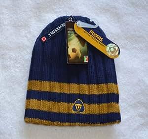 Mexico Pumas FMF Reversible Skull Cap - Winter Mexican Knit Hat