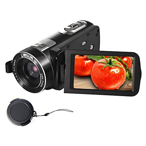 Camcorder Digital Camera Full HD 18X Digital Zoom Night Vision Video...