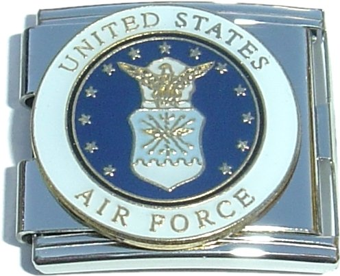 Mega United States Airforce Italian Charm
