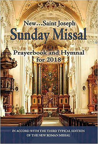 St  Joseph Sunday Missal and Hymnal for 2018: International