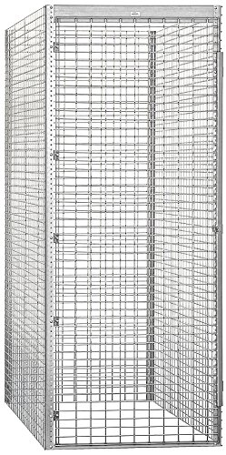 Salsbury Industries Bulk Storage Locker Single Tier Starter, 36-Inch, 60-Inch