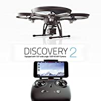 Discovery 2 Drone - 720P Great Range and Flight Time, Drone with 720P HD Camera DBPOWER Headless Mode Quad Copter, Improved Next Gen with Bestseller Discovery Long Flying, Introduction Offer by UDIRC