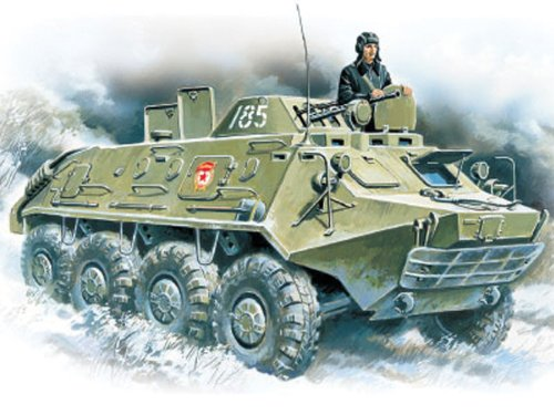 ICM Models BTR-60PB Armored Personnel Carrier Building Kit ()