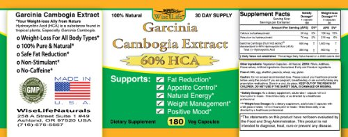 Fat Burner   Appetite Control   Weight Loss Formula 180 Caps Dr Recommended Pure Garcinia Cambogia Extract HCA, 1500 mg - 3000mg Best Formula of all Diet Pill Kit That Works for men and women over 40