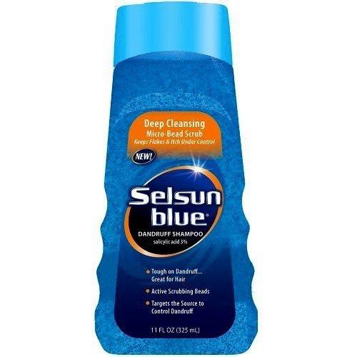 Selsun bleu Shampooing 11 oz Deep Clean (Pack de 4)