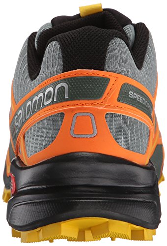 SalomonSpeedcross 3 CS - Zapatillas de Running para Asfalto Hombre Naranja - Orange (Light TT/Clementine-X/Bee-X)