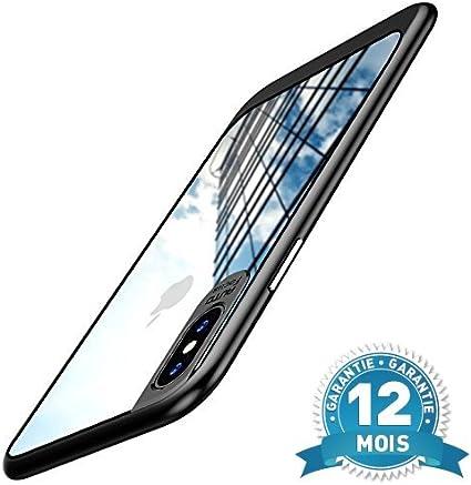 RHINO-TECHNOLOGY® Cover iPhone X, Custodia (nera) Custodia iPhone ...