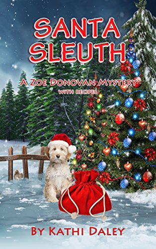 book cover of Santa Sleuth