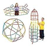 hoover dam puzzle - 100Pcs Plastic Boys Girls 4D Str-aw Building Blocks Joint Funny Development Toys