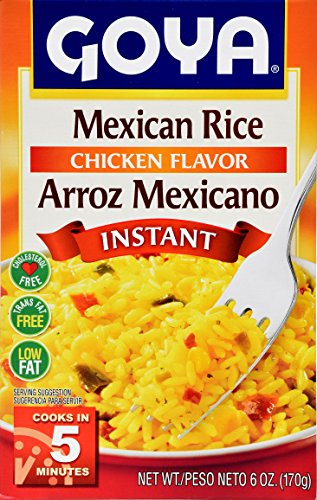 Goya Foods Instant Mexican Rice, 6 Ounce (Pack of 24) by Goya