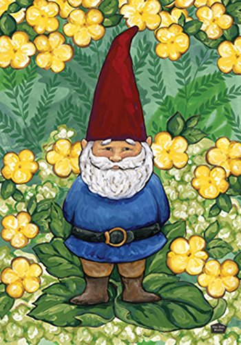 Toland Home Garden Garden Gnome 12.5 x 18 Inch Decorative Cu