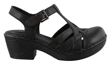 3b47ff3b1e5 B.O.C . Born On Concept PERSI T- Strap Shoes Leather BLACK