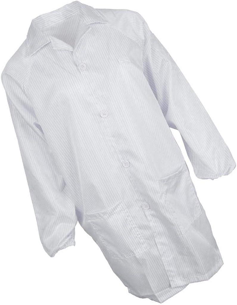 KESOTO Labormantel Laborkittel Arztkittel Berufsbekleidung Schutzkittel Schutzanzug f/ür Damen Herren