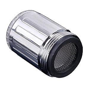 1PCS 7Color Cambio automatico a LED Rubinetto ad acqua Bagliore LED a soffione doccia Rubinetto Rubinetto Testa dell… 51PgMqpz3aL. SS300