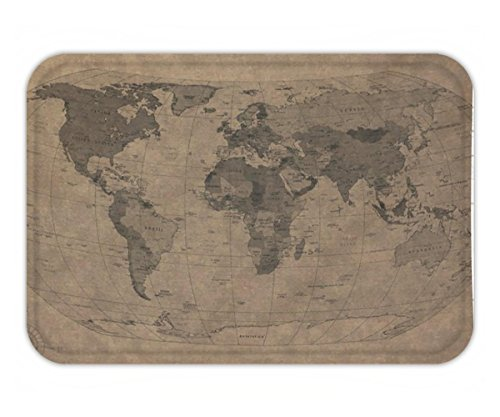 Old World Linens (Beshowere Doormat Custom Home Decor Old world mapCotton Linen .jpg)